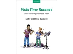 Audiolivro Viola Time Runners Viola Accompaniment Book