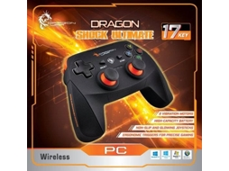 Gamepad DRAGON WAR Dragonshock Ultimate — Compatibilidade: Windows 10/8/7/Vista