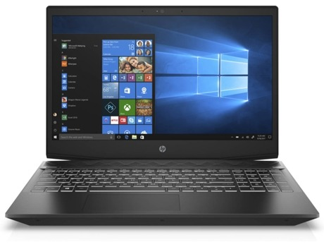 Portátil Gaming 15,6'' HP Pavilion 15-cx0011np — Intel Core i7-8750H | 12 GB | 1 TB HDD | NVIDIA GeForce GTX 1050 Ti