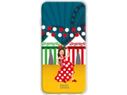 Capa Honor 20 Lite TECHCOOL Flamenca Multicor
