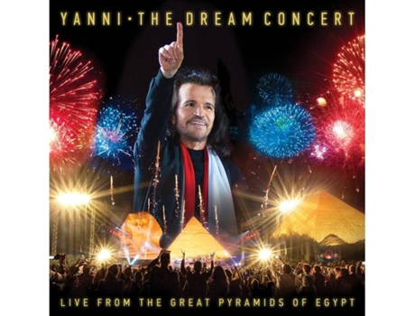 CD/DVD Yanni - The Dream Concert: Live From The Great Pyramids of Egypt — Pop-Rock