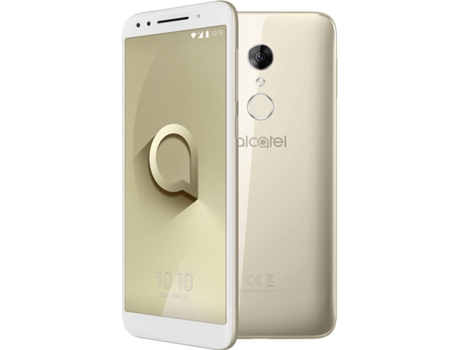 Smartphone ALCATEL 3 16 GB Dourado — Android 8 | 5.5'' | Quad-core 1.3 GHz | 2 GB RAM