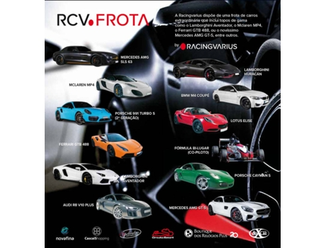 Bilhete Evento Racingvarius Day-Driving Experience  - Firts Class — Autodromo Do Estoril