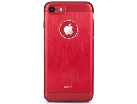 Capa MOSHI Armour iPhone 7 Crimson Red — Compatibilidade: iPhone 7