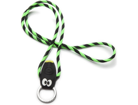 Fita Porta-Chaves O. LANYARDS Bug Light Verde — Para Chaves
