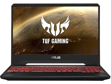 Portátil Gaming ASUS TUF FX505DY-R5ARXPB1 (15.6'', AMD Ryzen 5 3550H, RAM: 8 GB, 512 GB SDD, AMD Radeon RX 560X) — Windows 10 | Full HD