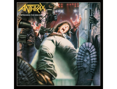CD Anthrax - Spreading The Disease-Deluxe — Pop-Rock