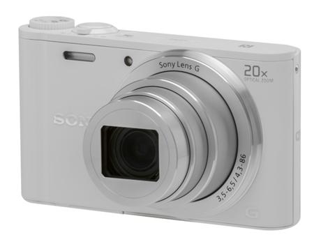 7ac73039506 Máquina Fotográfica Compacta SONY WX350 (Branco - 18.2 MP - ISO  80 a 1600  - Zoom Ótico  20x)