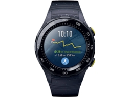 Smartwatch HUAWEI Watch 2 Cinza — Bluetooth e Wi-fi | 420 mAh | Android e iOS