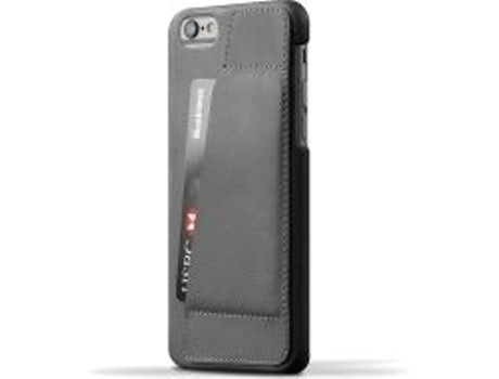 Capa MUJJO Leather 80° iPhone 6/6S Gray — Capa / iPhone 6/6S