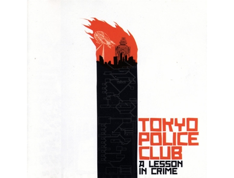 CD Tokyo Police Club - A Lesson In Crime