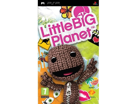 Jogo PSP Little Big Planet Essencials — Plataformas | Idade Mínima Recomendada: 6