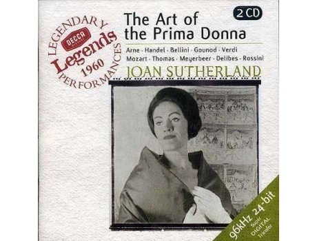 CD Joan Sutherland - The Art of the Prima Donna — Pop-Rock