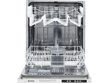 Máquina de Lavar Loiça Encastre BECKEN Bbidw2905 (12 Conjuntos - 60 cm - Branco)