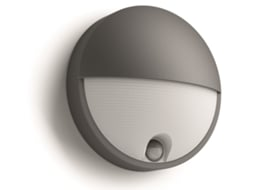 Candeeiro Outdoor Wall Sensor PHILIPS Capricorn Antracite — Alumínio