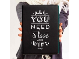 Capa para Tablet 10.1'' MR.WONDERFUL All You Need Is Love And Wifi Preto — Para Tablet 10.1''