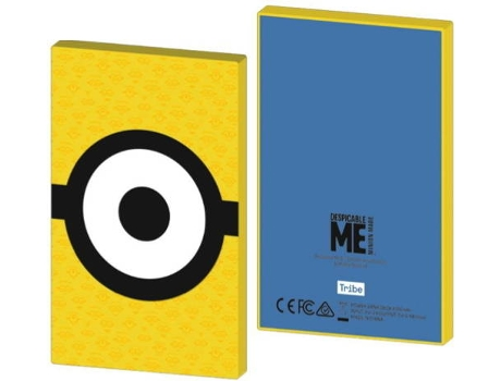 Powerbank TRIBE 4000mAh Minions Carl — 4000mAh