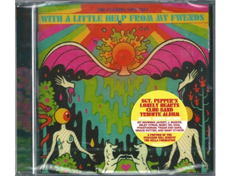 CD The Flaming Lips - With A Little Help From My Fwends