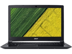 Portátil 15.6'' ACER A715-71G-779Z — Intel Core i7 / 16 GB / 256GB / NVIDIA GeForce GTX 1050