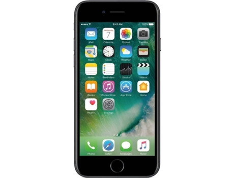 Smartphone APPLE iPhone 7 32GB Preto — iOS 10 / 4.5'' / A10 Fusion