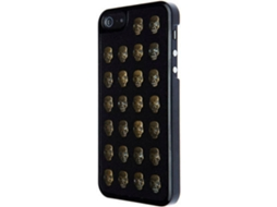 Capa VCUBED3 Metal Skull iPhone 5, 5s, SE Dourado — Compatibilidade: iPhone 5, 5s, SE