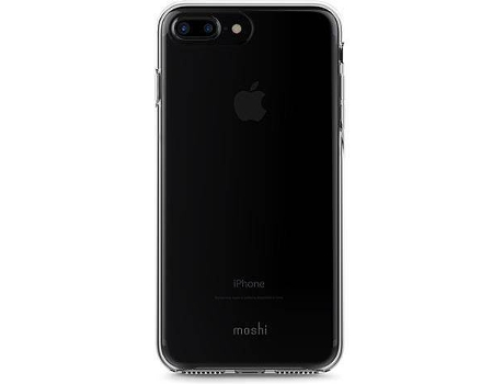 Capa MOSHI iGlaze Clear iPhone 7 Plus, 8 Plus Preto — Compatibilidade: iPhone 7 Plus, 8 Plus