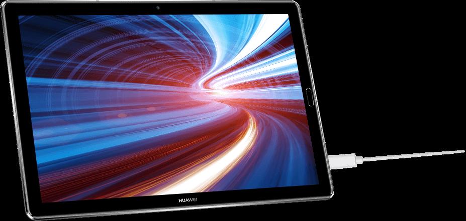 Huawei MediaPad M5 fast-charging