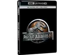 Blu-Ray 4K Parque Jurássico III — De: Joe Johnston | Com: Sam Neill,  William H. Macy,  Téa Leoni