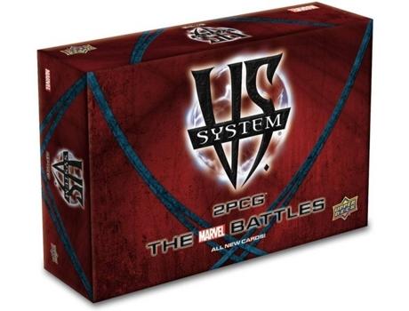 UPPER DECK - Jogo de Cartas UPPER DECK Vs System 2PCG: The Marvel Battles (Inglês - Idade Mínima: 8)