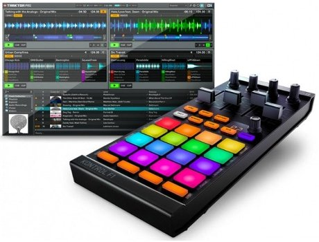 Controlador DJ NATIVE INSTRUMENTS Kontrol F1 — Compatibilidade: Mac | Pc