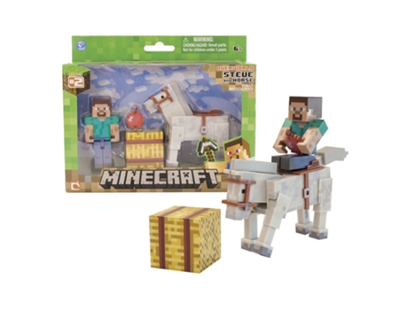 Minecraft - Pack Steve and Horse — Infantil