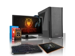 Pack Gaming FIERCE Exile - 413838 (Desktop Gaming + Monitor 21.5'' + HeadSet Gaming) — Windows 10 Home | Wi-Fi