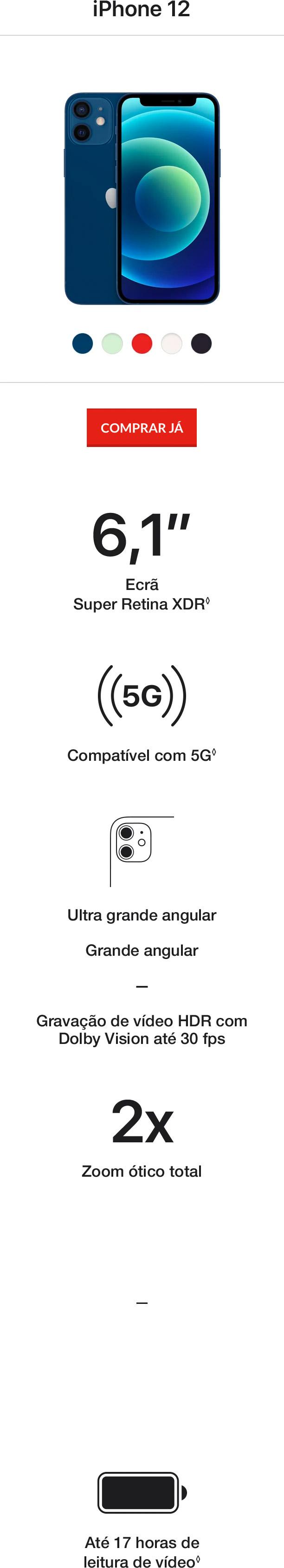 iPhone 12 Pro e iPhone 12 Encontra o iPhone ideal para ti