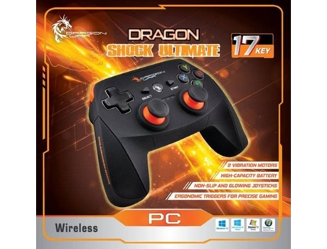 Comando DRAGON WAR Ultimate Wireless (PC - Bateria recarreg) — Compatibilidade: Windows 10/8/7/Vista