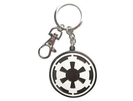 Porta-chaves STAR WARS Logo Imperial — Altura: 13 cm