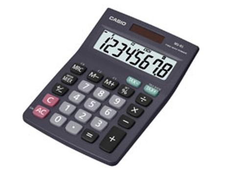 Calculadora CASIO Ms 8S 8 Dígitos | [4414142 ]