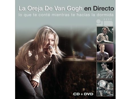 CD La Oreja de Van Gogh - En Directo — Pop-Rock
