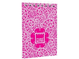 Bloco de Notas A7 MAKE NOTES Paisley One — A7 | 60 folhas