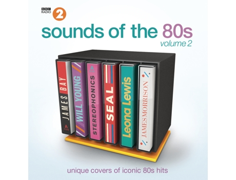 CD Vários - Sounds of the 80's — Pop-Rock