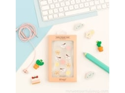 Capa MR. WONDERFUL Breakfast iPhone X Transparente — Compatibilidade: iPhone X