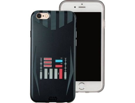 Capa TRIBE Star Wars Darth Vader iPhone 6, 6s, 7, 8 — Compatibilidade: iPhone 6, 6s, 7, 8