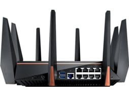 ROUTER GAMING WIRELESS ASUS ROG RAPTURE TRI-BAND AC5300 MIMO 8P GIGABIT GT-AC5300 — Tri-Band | 5300Mbps