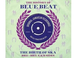 CD The History Of Blue Beat - The Birth Of Ska BB51 - BB75 A & B Sides