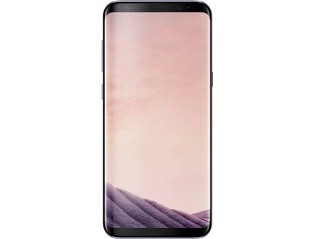 Smartphone SAMSUNG Galaxy S8 64 GB Cinza — Android 7.0 | 5.8'' | Octa core 4x2.3 + 4x1.7 GHz | 4 GB RAM