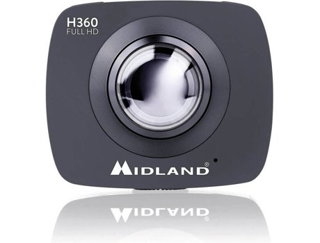 Action Cam MIDLAND FULL HD&WI-FI H360 — Vídeo: Full HD / 4,5 MP / Autonomia: 1.5 horas