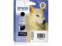 Tinteiro EPSON T0961 Preto Photo — Preto