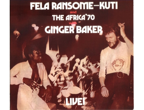CD Fela Ransome-Kuti And - The Africa '70 With