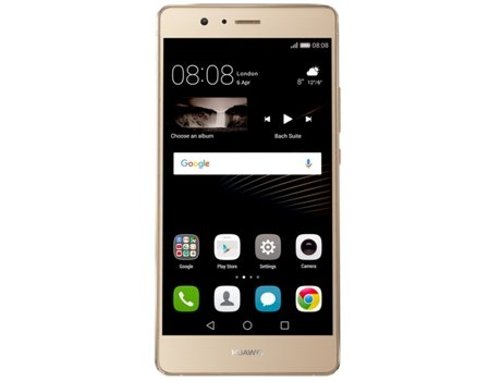 Smartphone MEO HUAWEI P9 LITE 4G Dourado — Android 6.0 / 5.2'' / 4G / Octa-Core 4x2 GHz