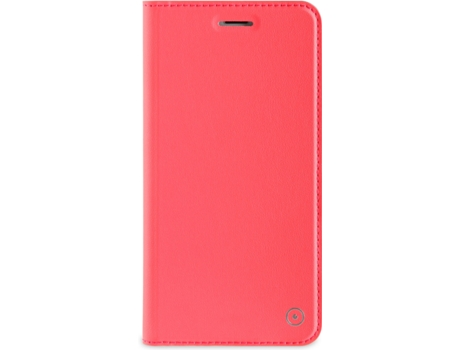Capa MUVIT Flip Coral iPhone 7 Plus, 8 Plus Rosa — Compatibilidade: iPhone 7 Plus, 8 Plus