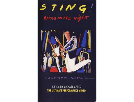 CD+DVD Sting - Bring On The Night — Pop-Rock